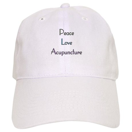 Peace, Love and Accupuncture Cap