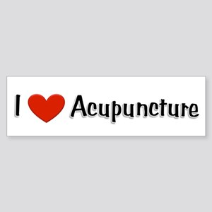 I love acupuncture Bumper Sticker