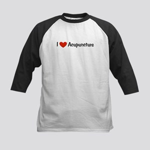 I love acupuncture Kids Baseball Jersey