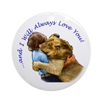 I Will Always Love You Ornament (Round)