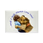 I Will Always Love You Rectangle Magnet (100 pack)