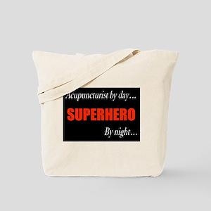 Superhero Acupuncturist Gift Tote Bag