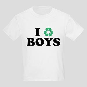 I Recycle Boys Kids Light T-Shirt