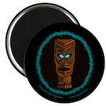 Tiki Blue Eyes Magnet