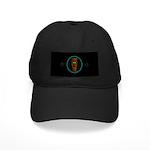 Tiki Blue Eyes Black Cap
