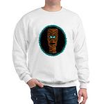Tiki Blue Eyes Sweatshirt