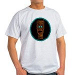Tiki Blue Eyes Light T-Shirt