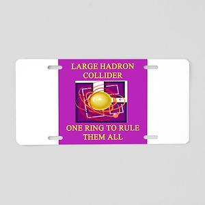 LHC Aluminum License Plate