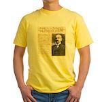 James Wild West Show Yellow T-Shirt