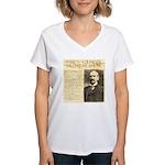 James Wild West Show Women's V-Neck T-Shirt