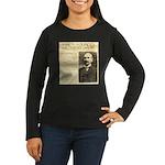 James Wild West Show Women's Long Sleeve Dark T-Sh