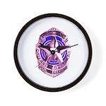 Dallas Police Officer Wall Clock