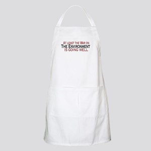War on the Enviroment BBQ Apron