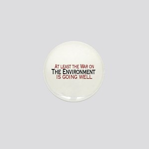 War on the Enviroment Mini Button