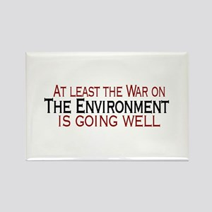 War on the Enviroment Rectangle Magnet