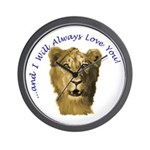 I Will Always Love You (alt) Wall Clock