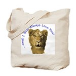 I Will Always Love You (alt) Tote Bag