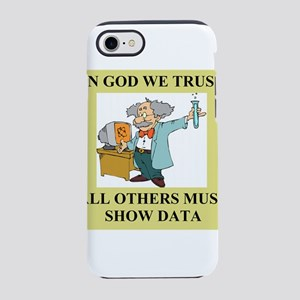god and science joke gifts t-shirts iPhone 8/7 Tou