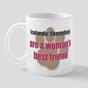 Icelandic Sheepdogs woman's best friend Mug