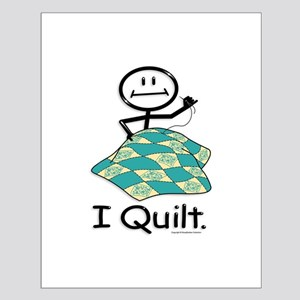 BusyBodies Quilt Small Poster