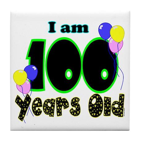 100th Birthday PRI Tile Coaster
