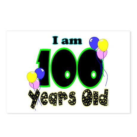 100th Birthday PRI Postcards (Package of 8)