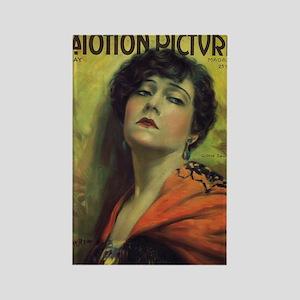 Gloria Swanson May 1922 Rectangle Magnet