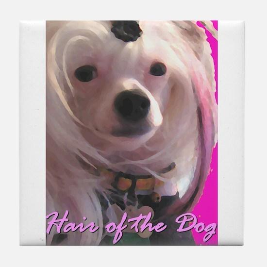Hair of the Dog Detroit Tile Coaster
