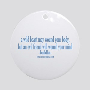 Evil Friend Ornament (Round)