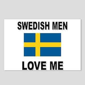 Swedish Men Love Me Postcards (Package of 8)