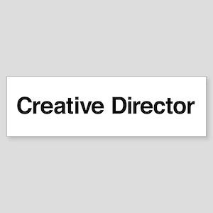 Creative Director Bumper Sticker