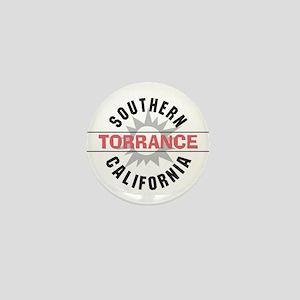 Torrance California Mini Button