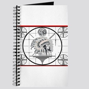 TV Test Pattern Indian Chief Journal