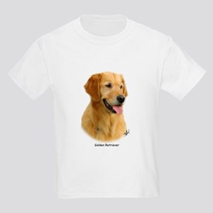 Golden Retriever 9K011D-08 Kids Light T-Shirt