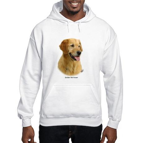 Golden Retriever 9K011D-08 Hooded Sweatshirt