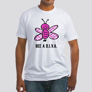Pink Bee A D.I.V.A. Fitted T-Shirt