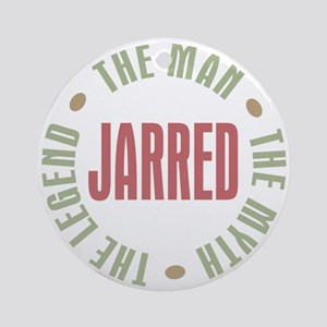 Jarred Man Myth Legend Ornament (Round)