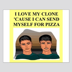 funny geek pizza clone gifts t-shirts Posters
