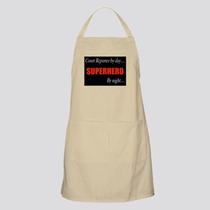 Court Reporter BBQ Apron
