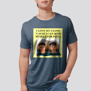 funny geek pizza clone gifts t-shirts T-Shirt