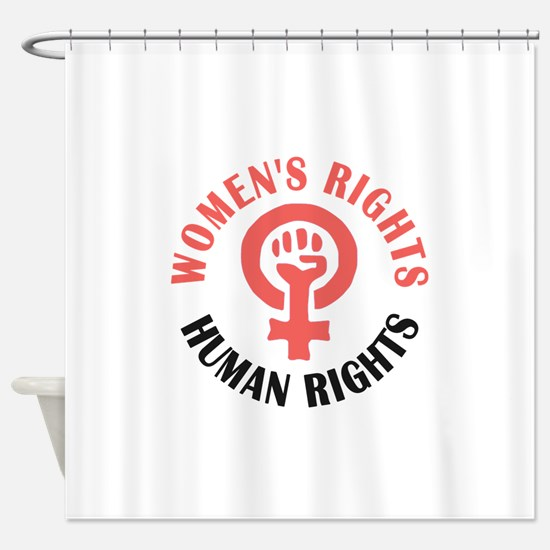 Womens March Shower Curtain