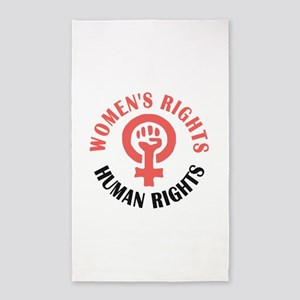 Womens March Area Rug