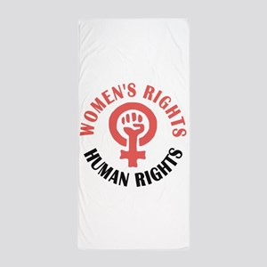 Womens March Beach Towel