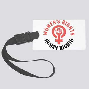 Womens March Large Luggage Tag