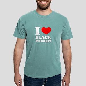 I love Black Women Black T-Shirt