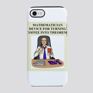 funny math coffee geek t-shirts gifts iPhone 8/7 T
