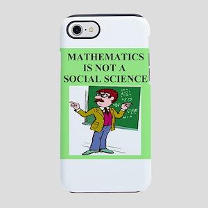 funny math geek t-shirts gifts iPhone 8/7 Tough Ca