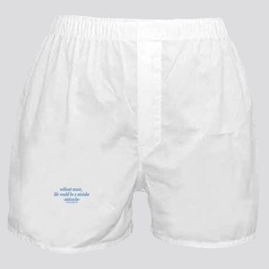 Life Without Music Boxer Shorts