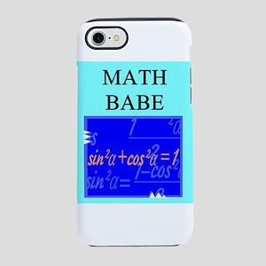 geek math woman gifts t-shirts iPhone 8/7 Tough Ca