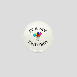 'It's My Birthday!' Mini Button